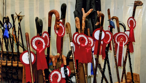 Prize winning sticks