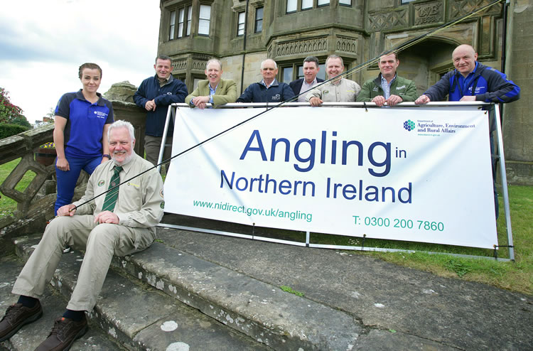 The Angling team at the launch of the fair