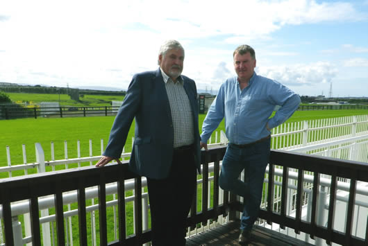 Albert Titterington & Alan Collins, two of the most experienced event organisers in Ireland