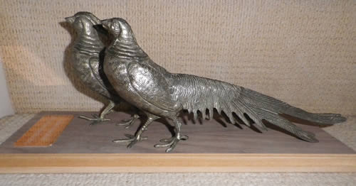 'Brace of Pheasant' Trophy - two to be won!